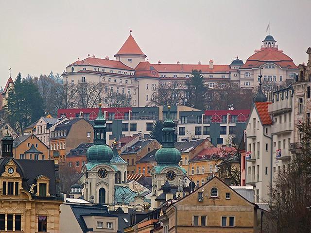 Karlovy Vary, la reina de las ciudades-balneario en República Checa