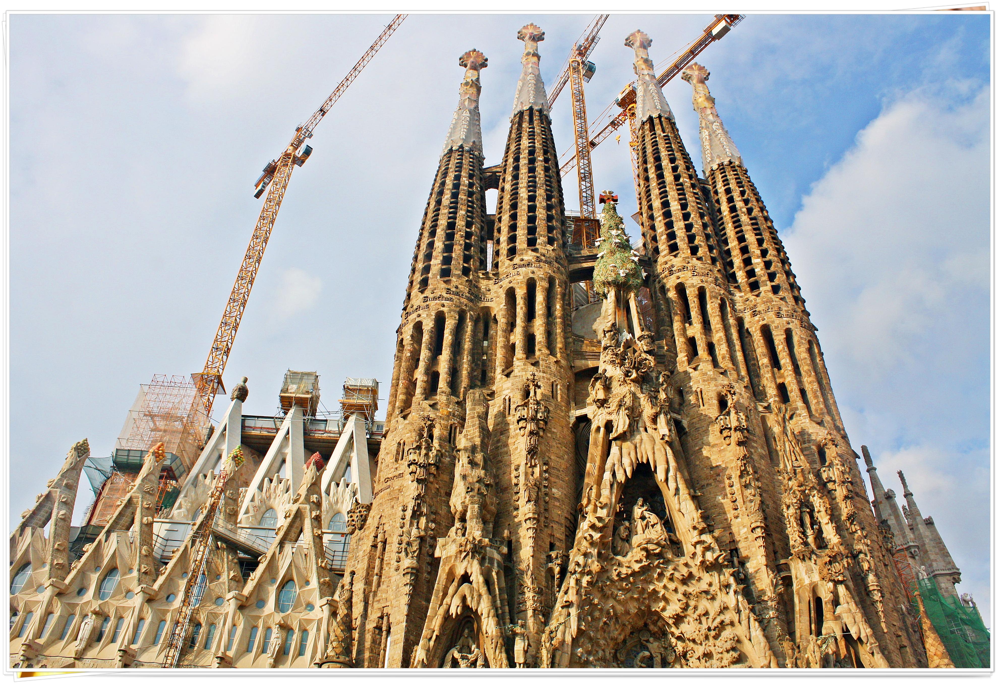 Basilica de la Sagrada Familia - Barcelona, Spain 2013