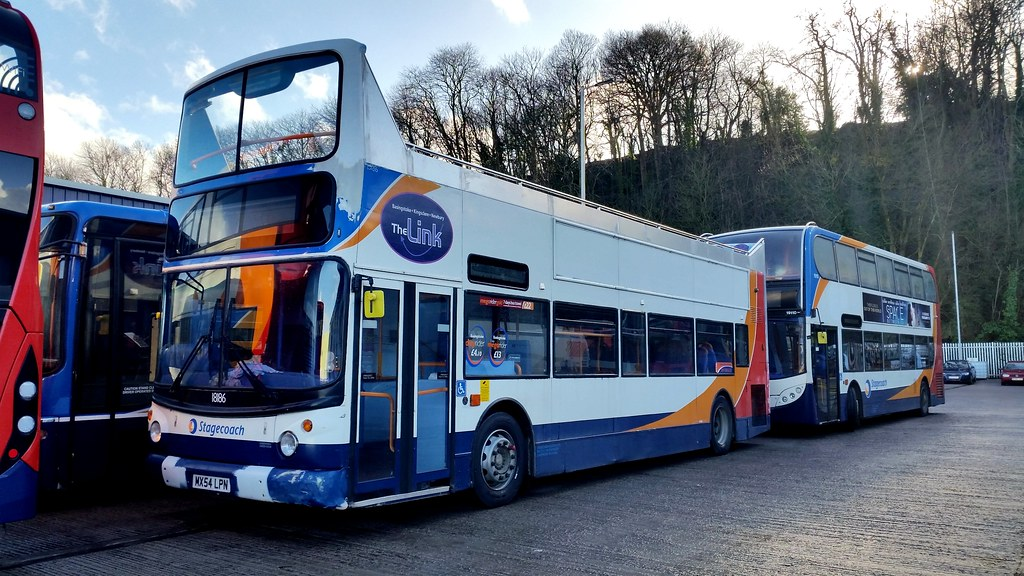... 18186 - Stagecoach Southwest Exeter February 2017   by Dave Growns