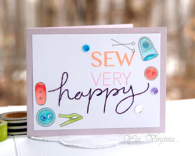 sew very happy