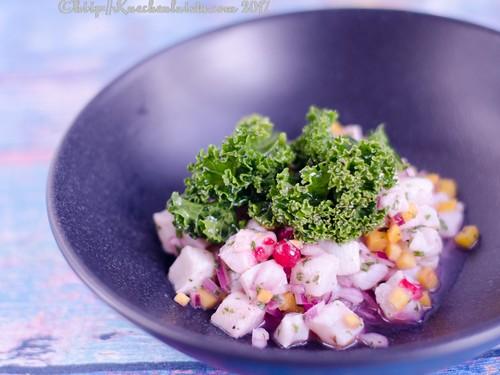Ceviche mit Grünkohlsalat (3)