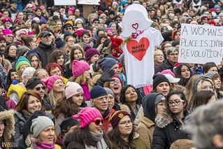 manif des femmes women's march montreal 14 | by Eva Blue