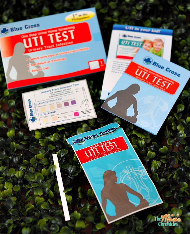 blue cross uti test kit