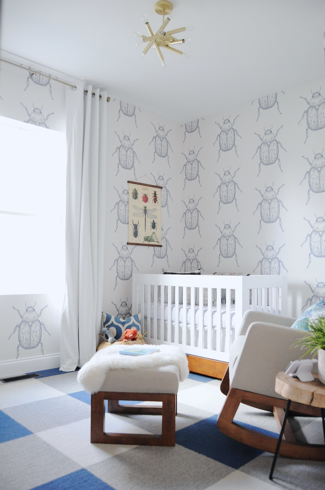 Beetle Boy Nursery Reveal