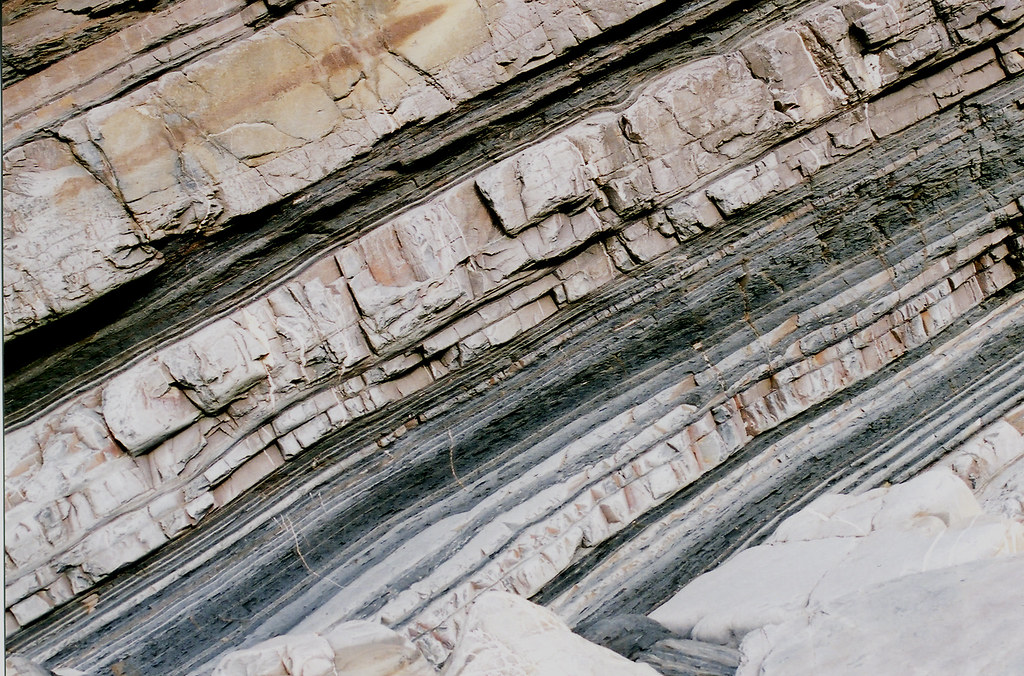 Turbidite Turbidite Beds A Sedimentary Rock From