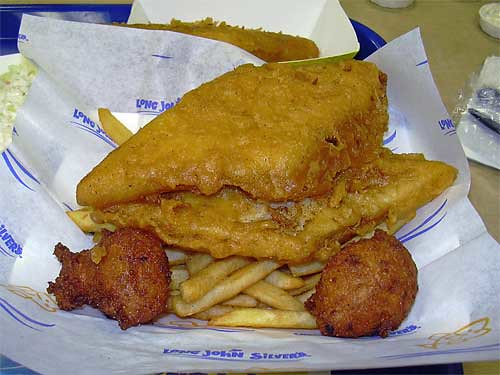 Long john silver 39 s 2 fish combo patchogue ny morton for Long john silvers fish