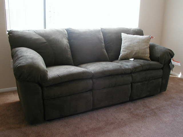 I Have A Sofa Reclining Sofa In Olive Durapella From