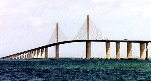 Tampa Bay Bridge Florida Skyway Bridge Tampa Bay