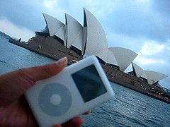 iPod @ Sydney Opera House | by Soapstar D'lux
