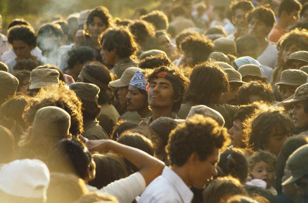 Returning militias, Managua, Nicaragua, 1982 | by Marcelo  Montecino