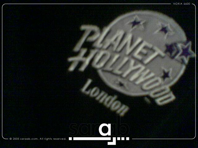 Planet hollywood t shirt gift from my brother ar for Planet hollywood t shirt
