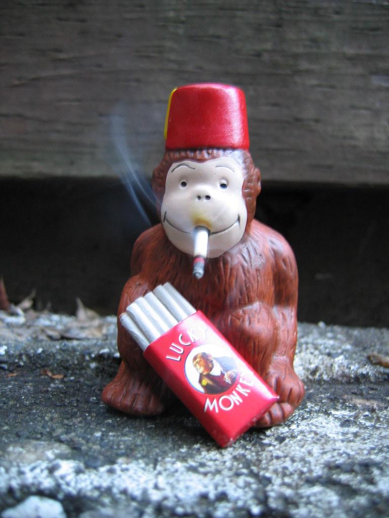 oh, smoking monkey! | ...