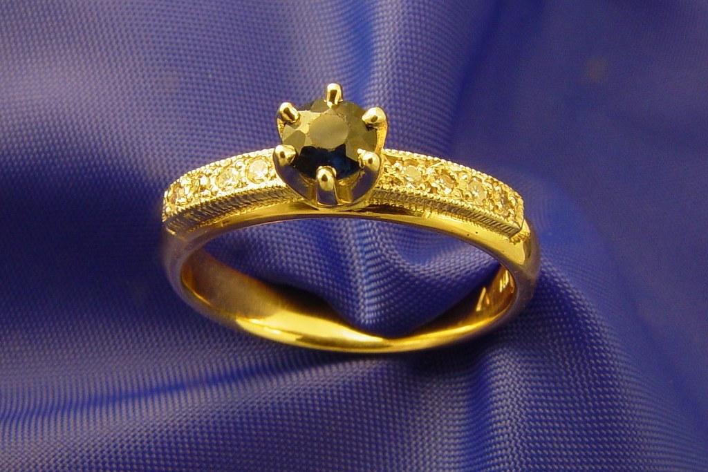 Sapphire And Diamond Ring Canada