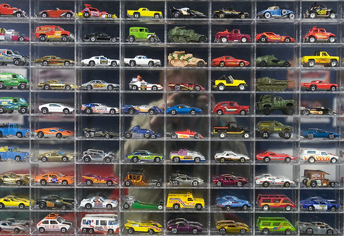 Hot Wheel Memories (with reflected self) | by Mark Interrante