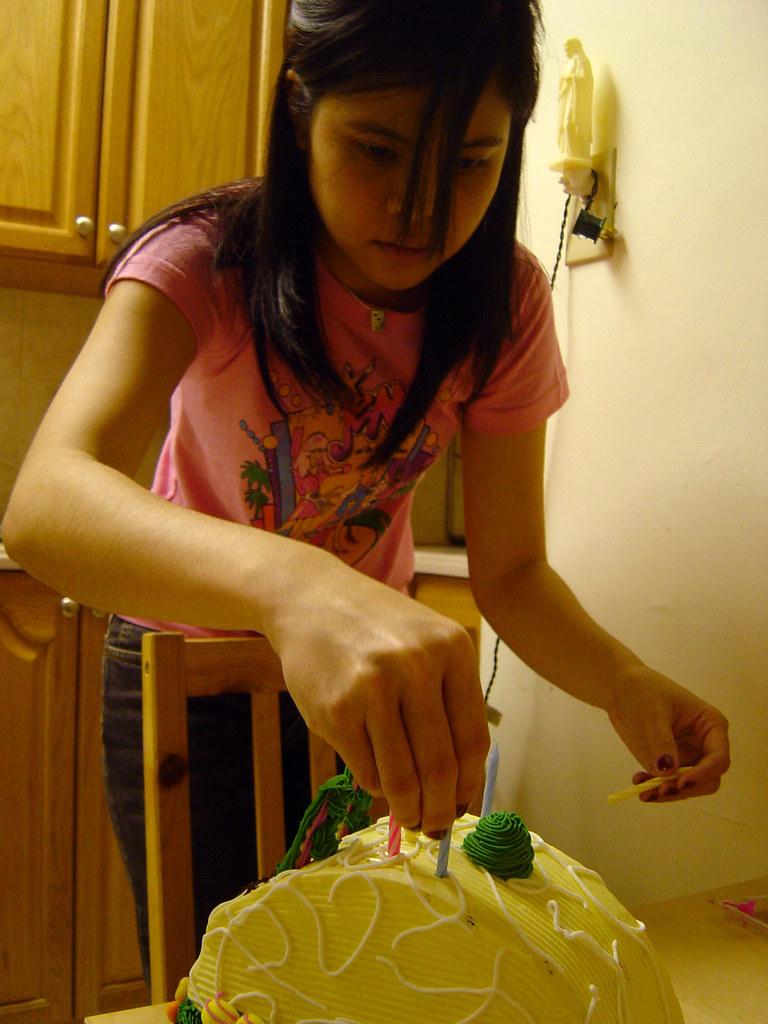 Putting Cake In Fridge To Cool