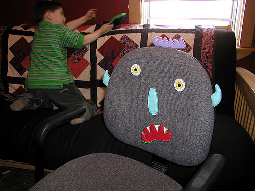 silly chair monster | by massdistraction