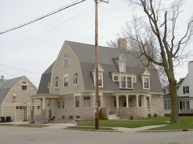 Dutch Barn Style House Frank Lloyd Wright Arthur