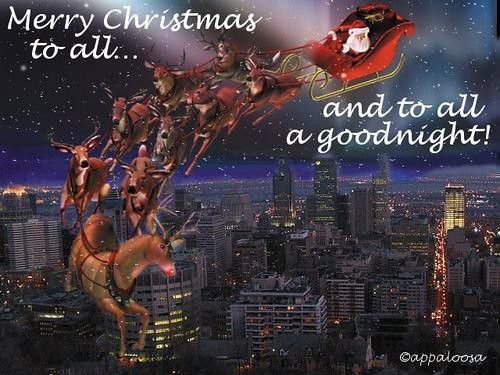 by appaioosa happy christmas to all and to all a good night by appaioosa - Merry Christmas To All And To All A Good Night