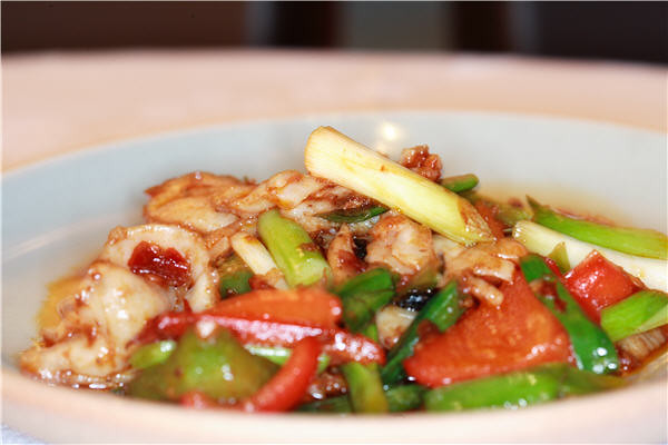 sauteed fish fillet with pepper leek flickr photo sharing