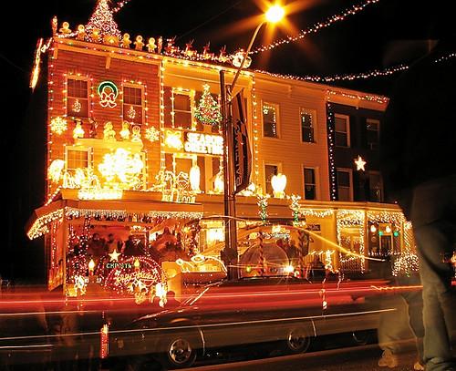 Hampden Baltimore Christmas Lights