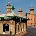 The tomb inside Wazir Khan Mosque