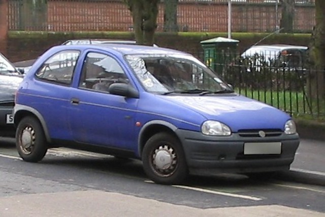 My Little Vauxhall Corsa I Bought Purple Ronnie Here In