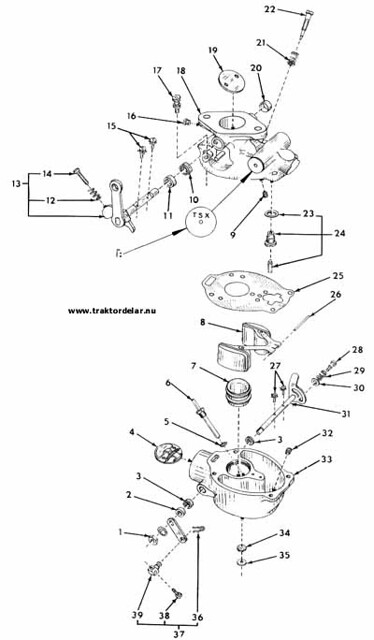 Farmall 140 Carburetor Diagram