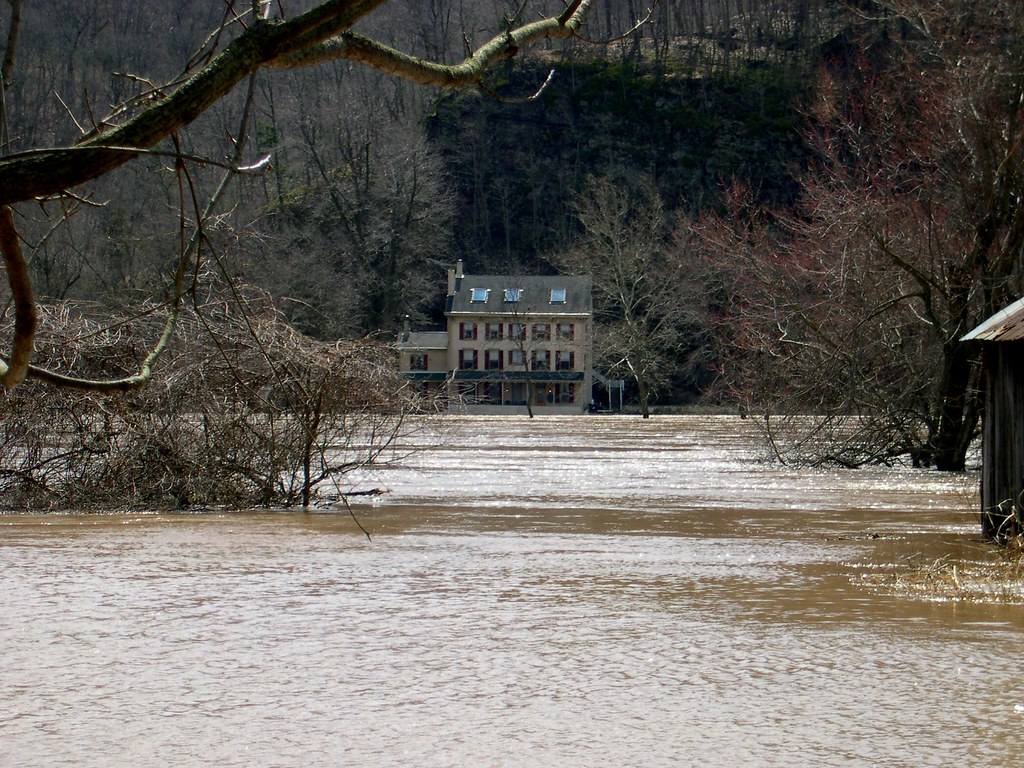 Upper Black Eddy Pennsylvania Flooding April 4, 2005 | Flickr