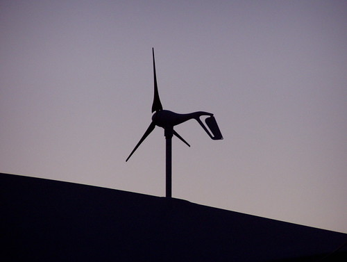 Small wind turbine @ sunset | by m.gifford