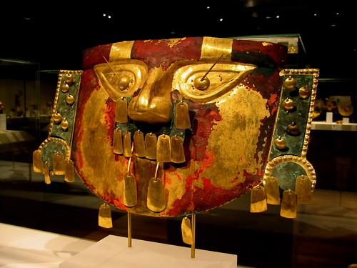 peru - funerary mask | by Xuan Che