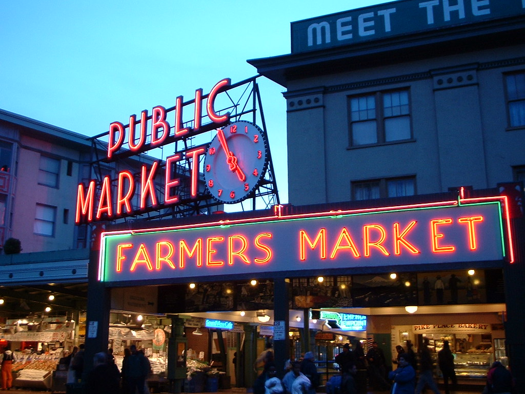 Pike Market Place Food