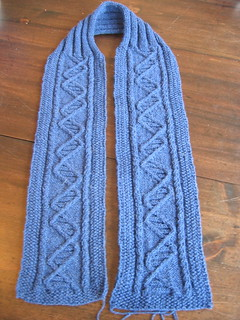 DNA scarf 2 | by thomasina