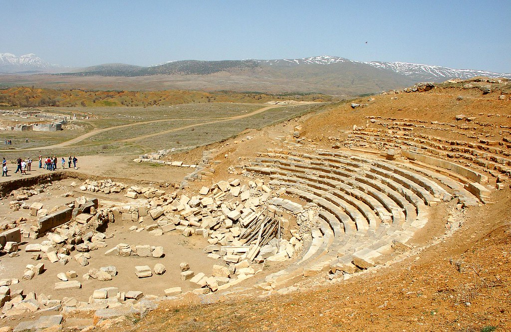 The Theatre, Antioch in Pisidia  Antioch in Pisidia (now ...