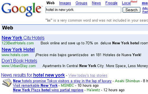 Google test three Adwords | by Telendro