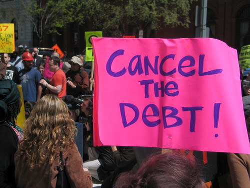 cancel the debt