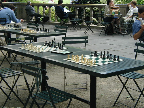 Chess at Bryant Park | by skreuzer