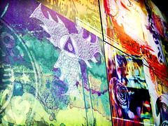 Starbucks Wall - Lomoized | by Kymberlie R. McGuire