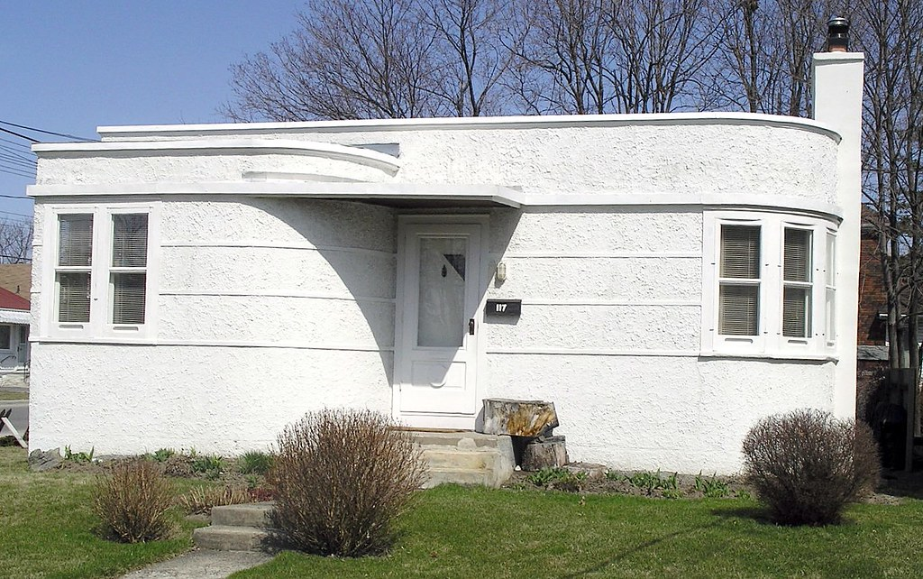 Kingston Bungalow This Art Deco Y Bungalow Proliferates