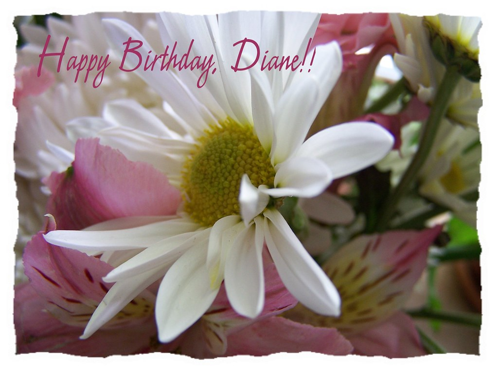 Happy Birthday, dear Diane!! | I hope your day is as wonderf ...
