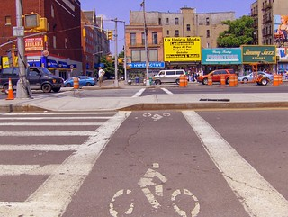 unusual nyc bike lane | by seth_holladay