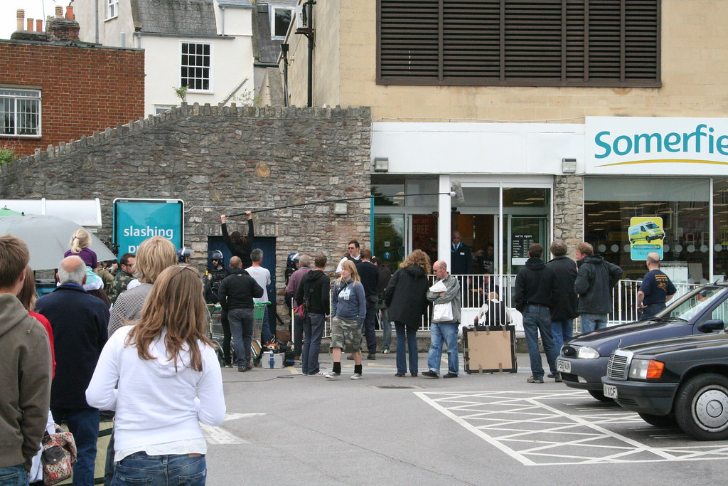 Hot Fuzz Filming In Wells Somerset Wandered Up To Some