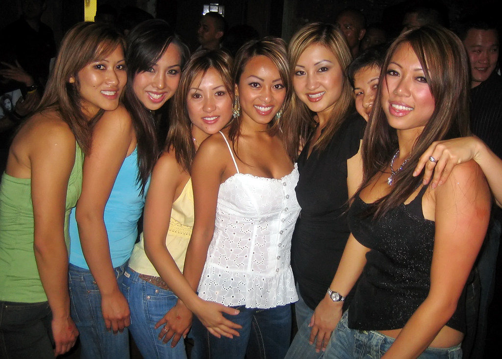 Asian girls happy ending