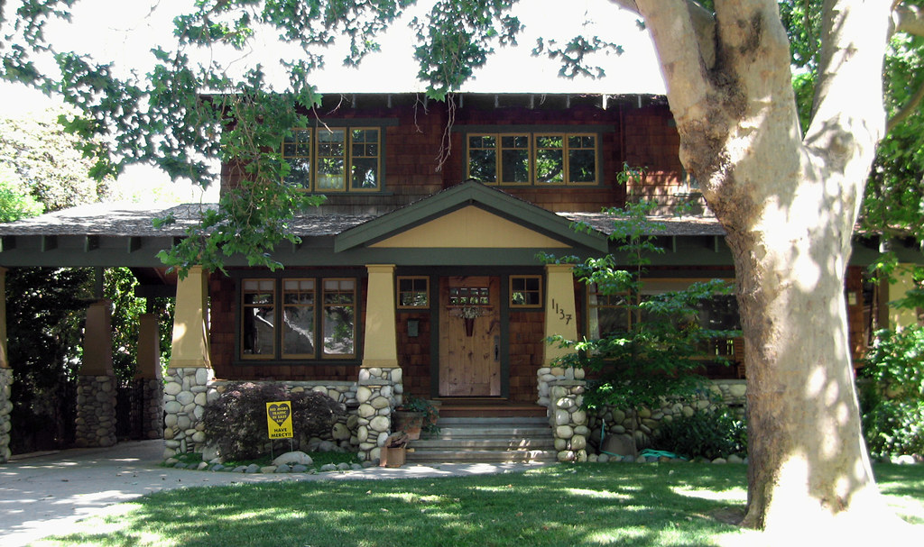 Nice east sacramento bungalow somewhere in sacramento 39 s f flickr - Arts and crafts bungalow house plans paint ...