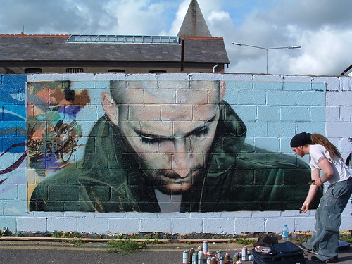 work in progress..... Cork Graffiti | by K's Photo's
