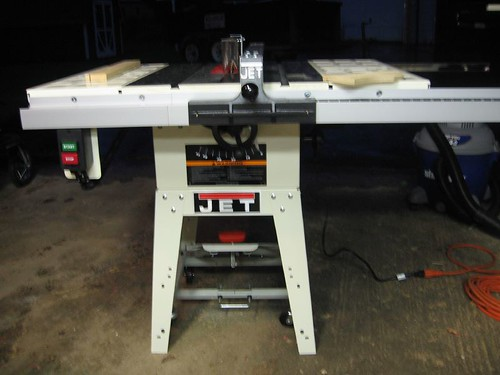 Jet Jwts 10jf Table Saw My New Table Saw Fully Assembled