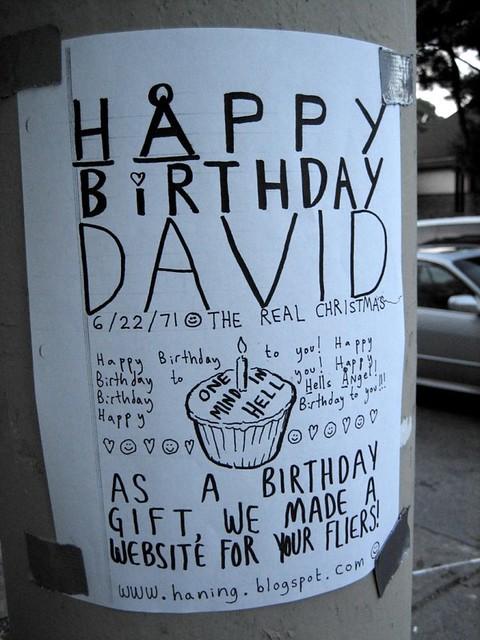 Happy Birthday David Trike Images Cakes