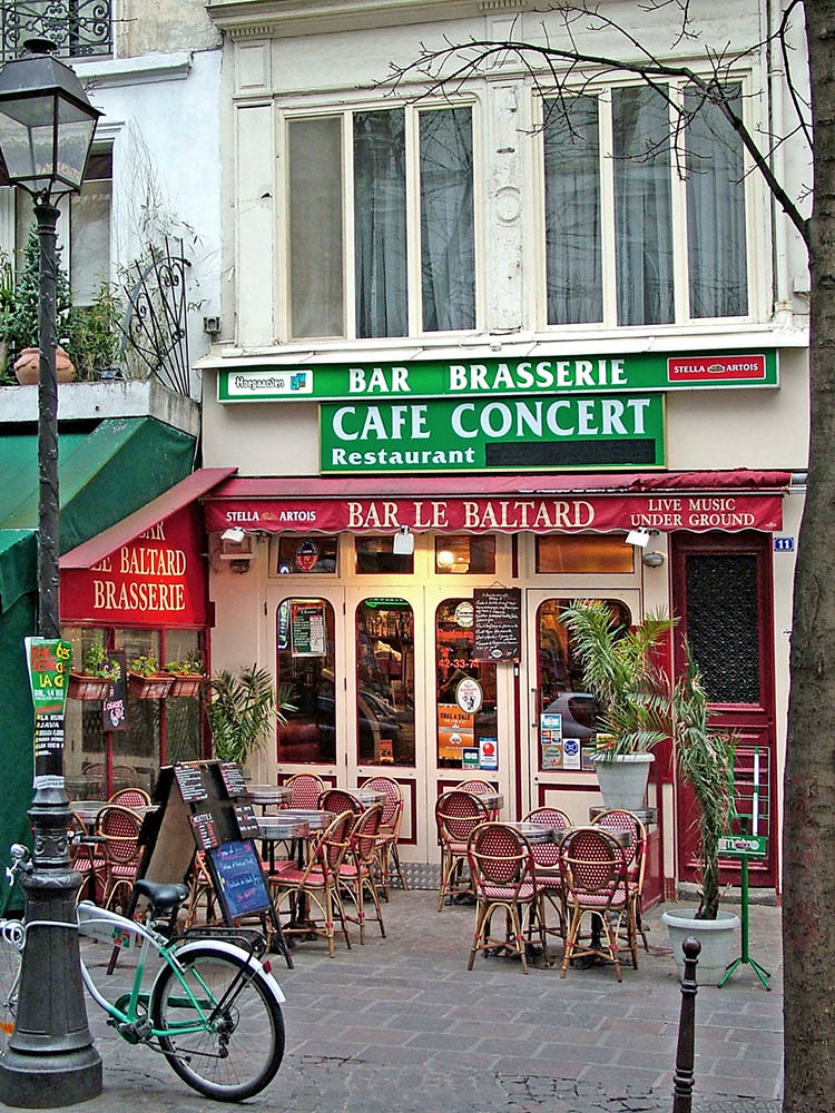 Pastry Cafes In Paris