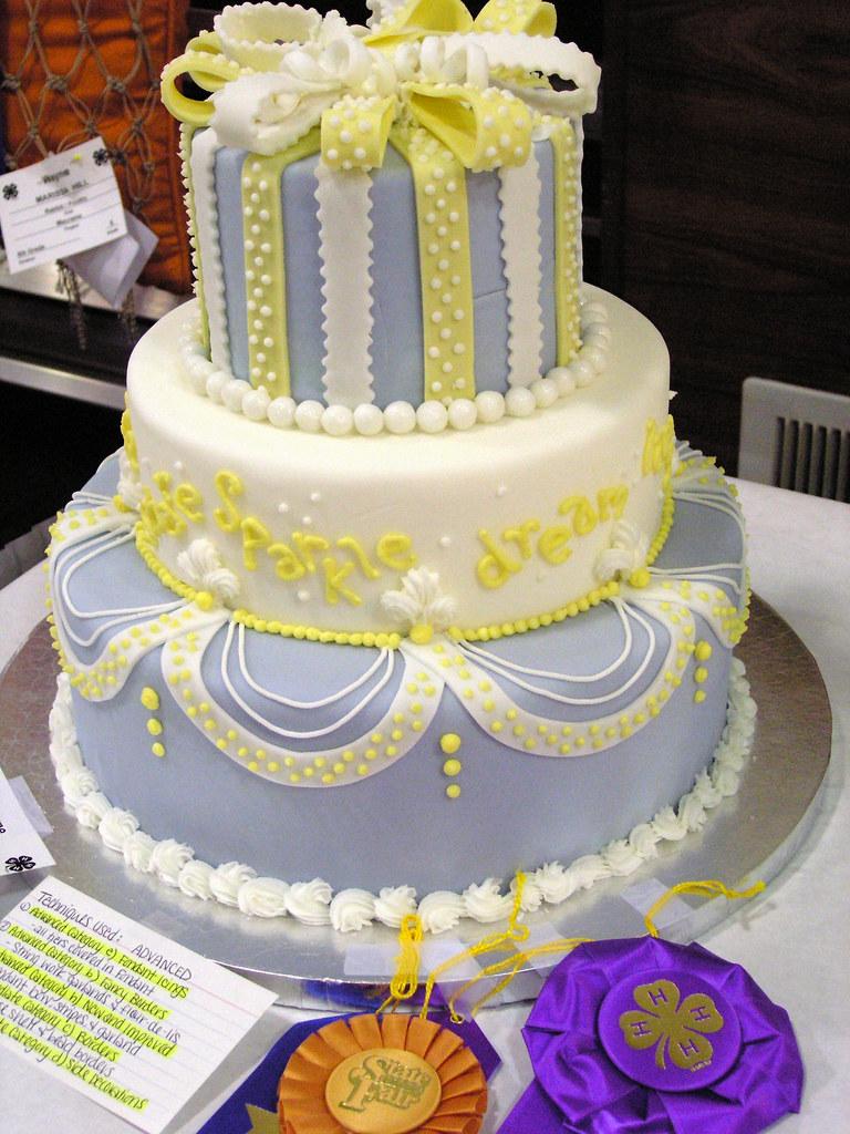 Cake Decorating Ideas For New Job : Grand Champion Cake Decorating Sarah Jordan of the ...