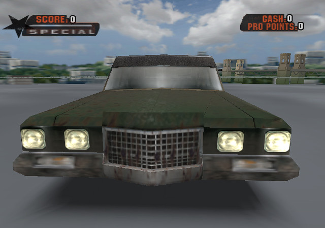 Six Feet Under Hearse: PS2 Model. I Made This For