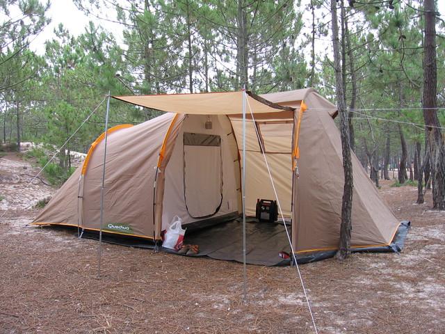 Docce da campeggio decathlon: tenda da campeggio fresh black quechua